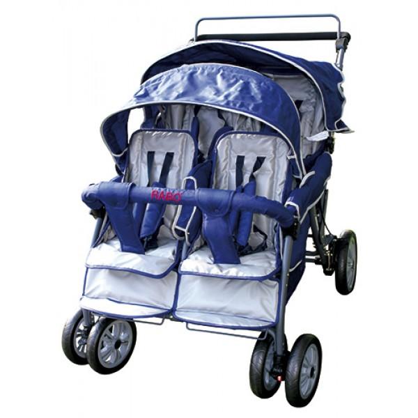 Baby Bus Stroller 4-seater